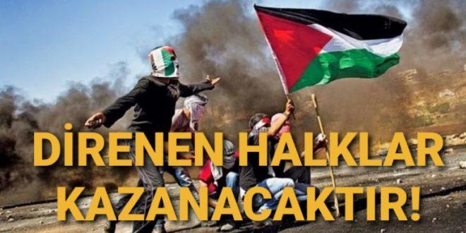 Filistin – Kürdistan, İntifada – Serhildan!